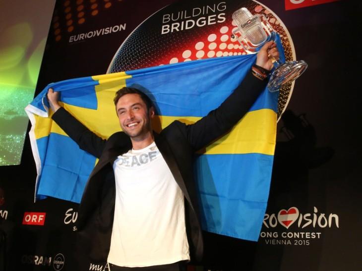 Måns Zelmerlow, Eurovision 2015