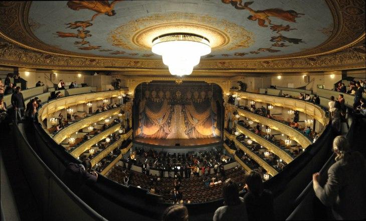 Paradis au théâtre