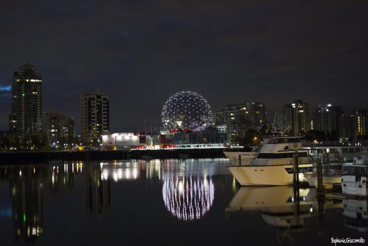 Vancouver by night, Colombie-Britannique, Canada - Nord Espaces