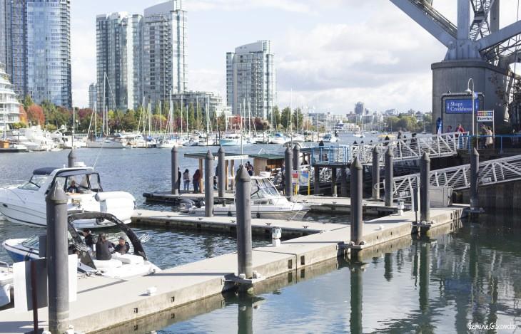 Port de plaisance de Granville Island, Vancouver, Colombie-Britannique, Canada - Nord Espaces