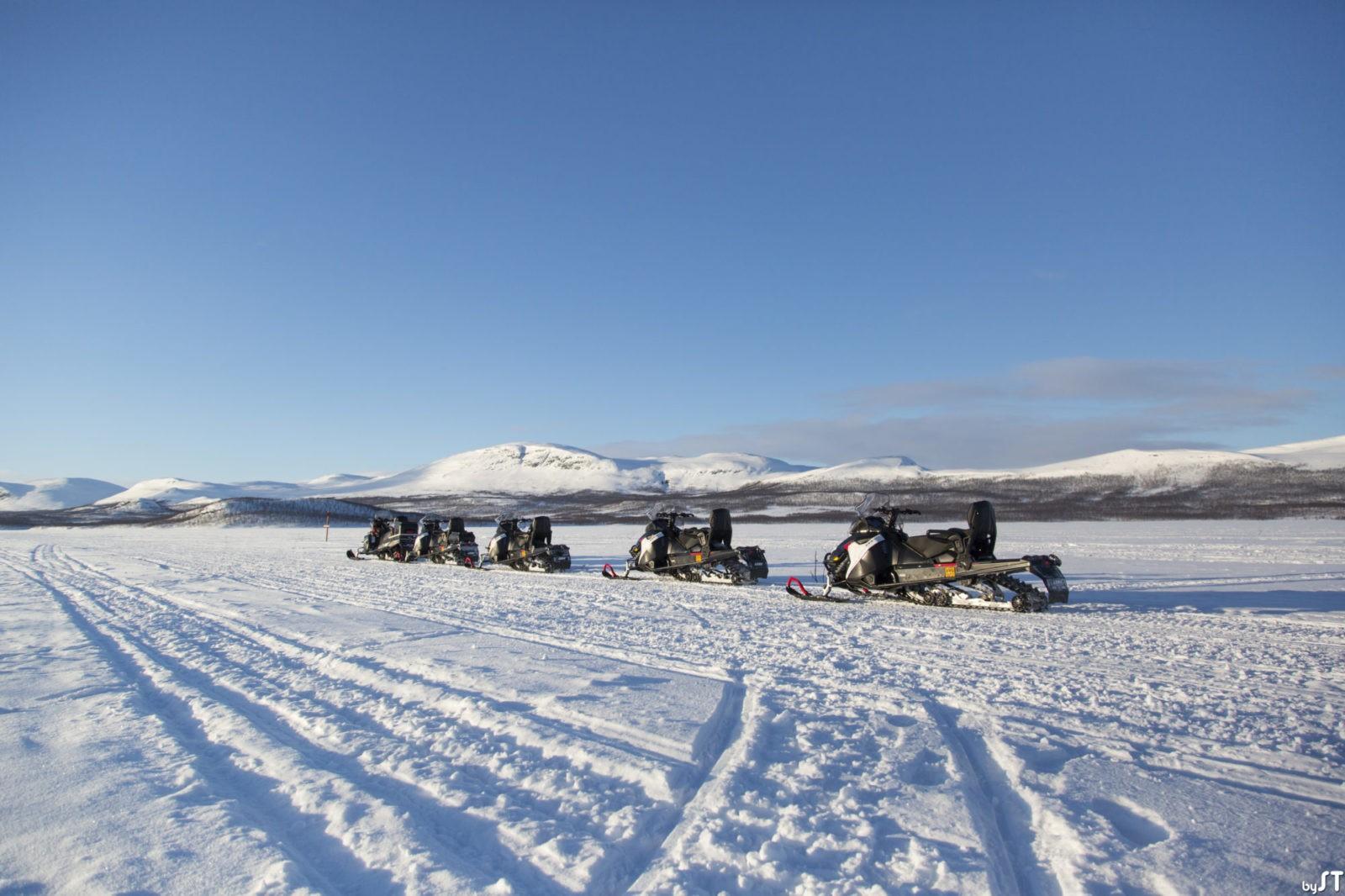 Motoneige à Kilpisjärvi