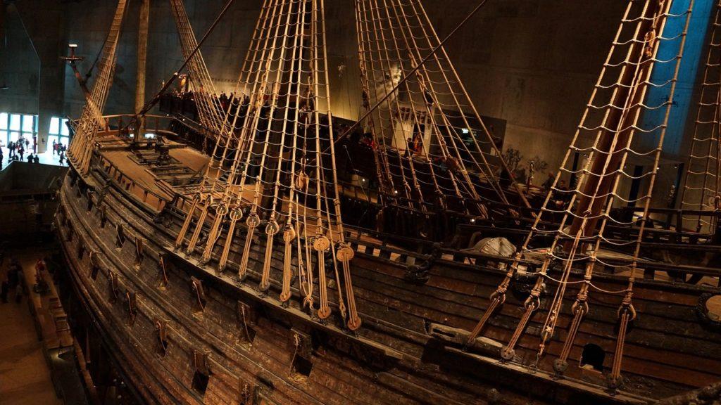 le musee vasa stockholm en suede