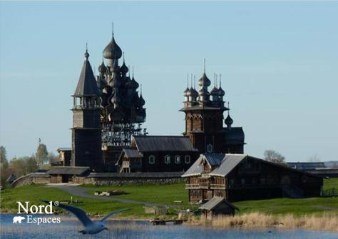 Enclos paroissial de Kiji, Russie - Nord Espaces