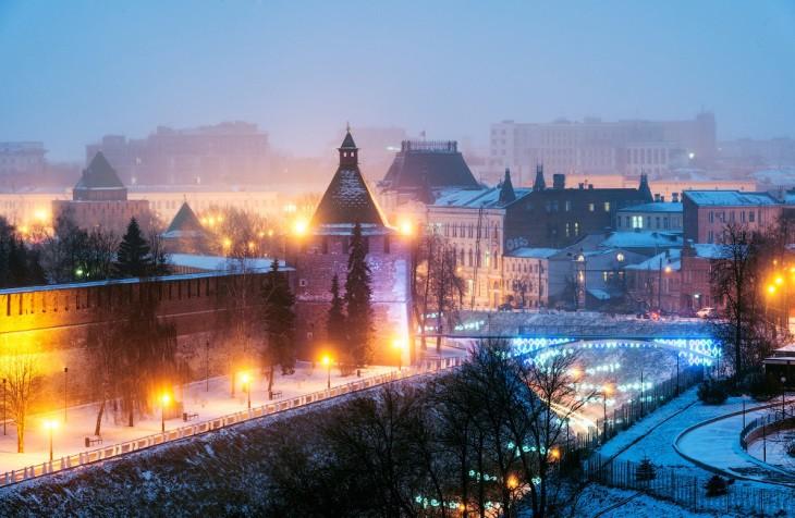 Kremlin de Nijni-Novgorod, Russie - Nord Espaces