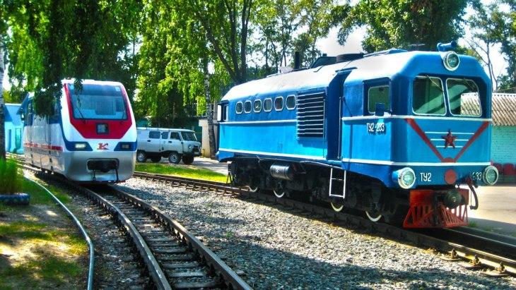 Chemins de fer pour enfants à Nijni-Novgorod, Russie - Nord Espaces