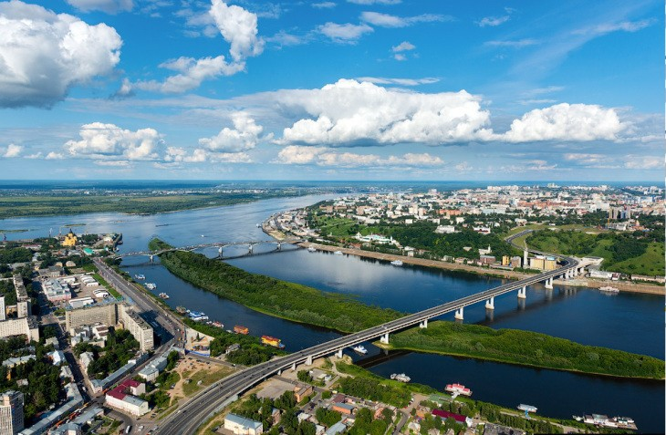 Nijni-Novgorod et la Volga, Russie - Nord Espaces