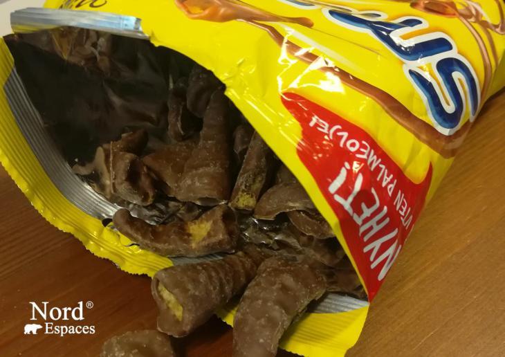 Biscuits norvégiens salés et enrobés de chocolat - Nord Espaces