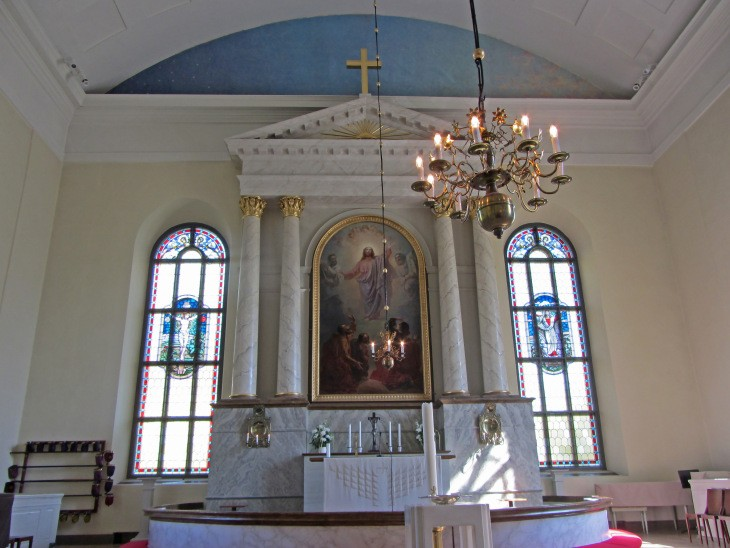 Cathédrale luthérienne d'Oulu, Ostrobotnie du Nord, Finlande