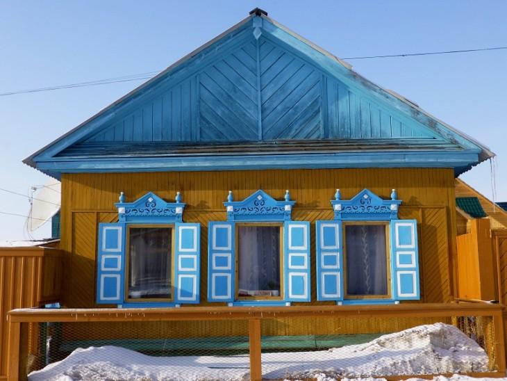 Izba, architecture sibérienne