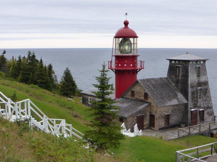 Phare en Gaspésie, Québec, Canada - Nord Espaces