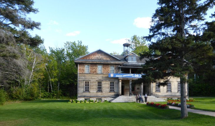 Village historique de Val-Jalbert, Québec, Canada - Nord Espaces