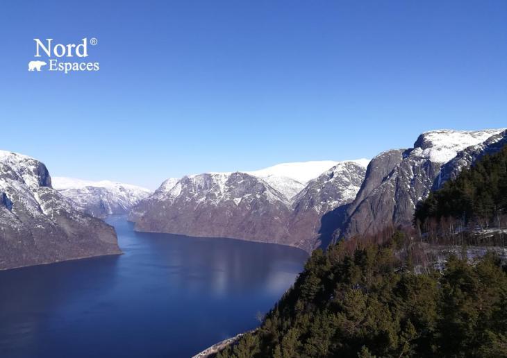 Fjord à Bergen, Norvège