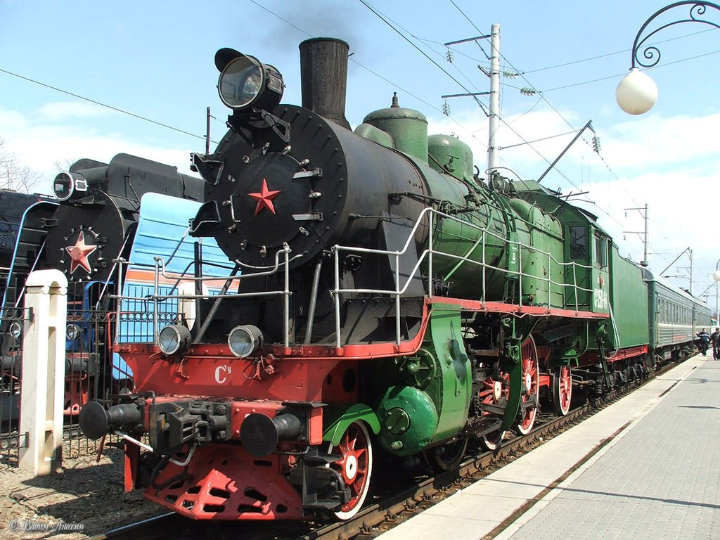 Musée des Chemins de Fer, Rostov sur le Don, Russie