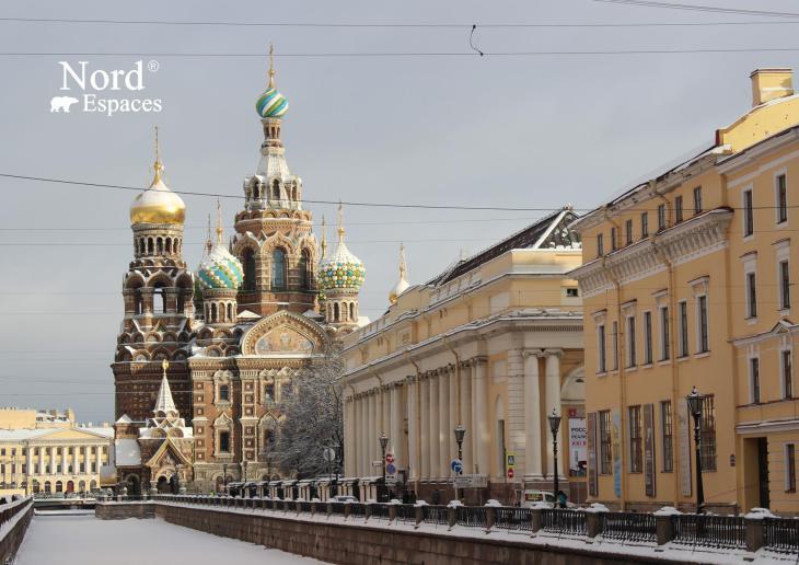 Cathédrale Saint-Sauveur-sur-le-Sang-Versé à Saint-Pétersbourg - Nord Espaces