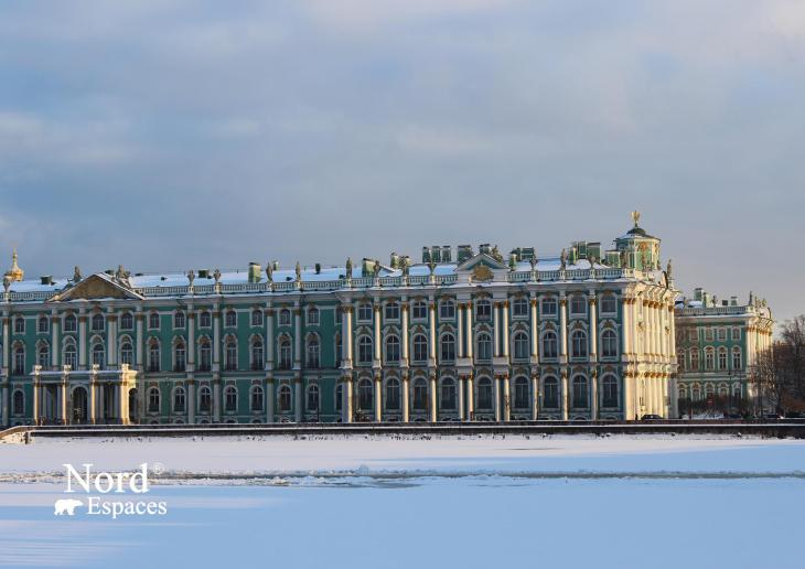 Palais d'Hiver à Saint-Pétersbourg - Nord Espaces