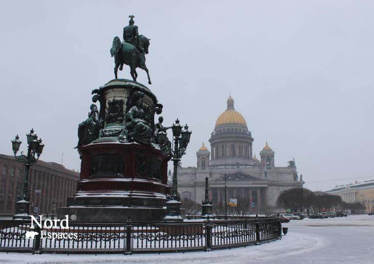 Cathédrale Saint-Isaac de Saint-Pétersbourg - Nord Espaces