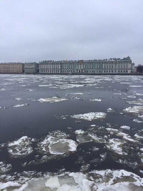 La Neva et le Palais d'Hiver à Saint-Pétersbourg - Nord Espaces