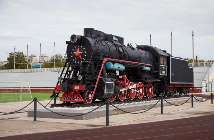 Locomotive à vapeur, Samara, Russie