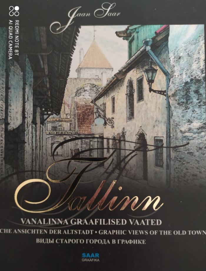 Tallinn Vanalinna Graafilised Vaated, Jaan Saar, Saar Graafika, 2016