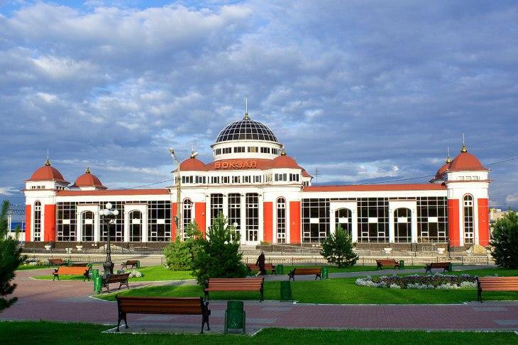 Gare de Saransk, Russie