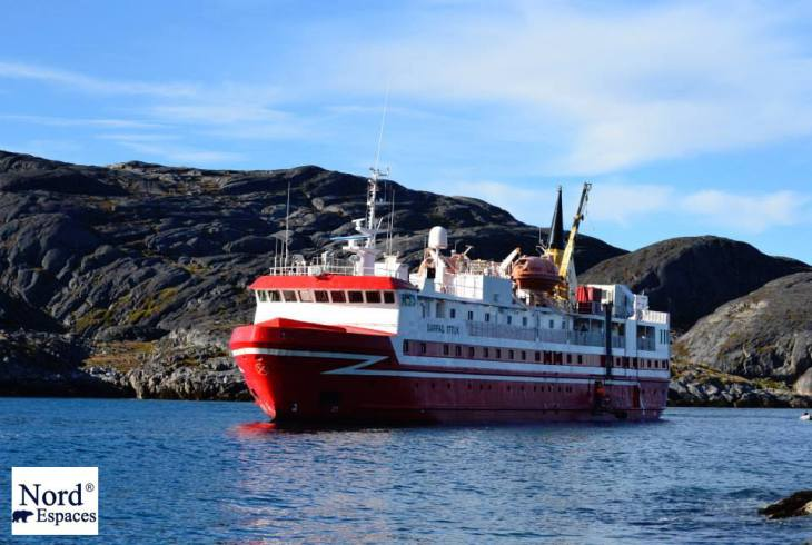 L'express côtier groenlandais - Nord Espaces Boréalis