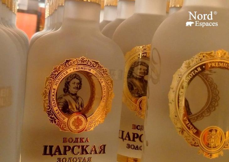 Vodka russe des Tsars