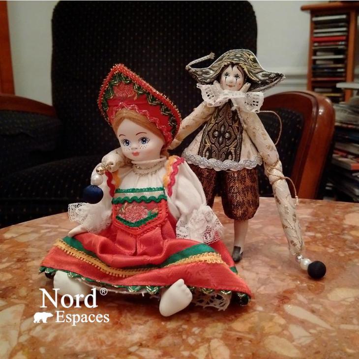 Souvenirs russes, poupées