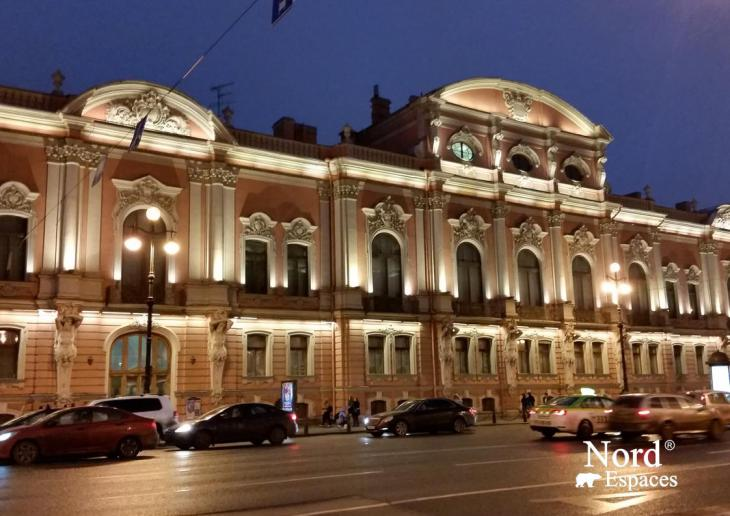 Perspective Nevsky à Saint-Pétersbourg