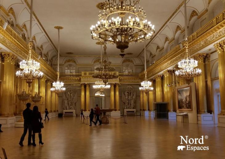 Les salles du musée de l'Ermitage
