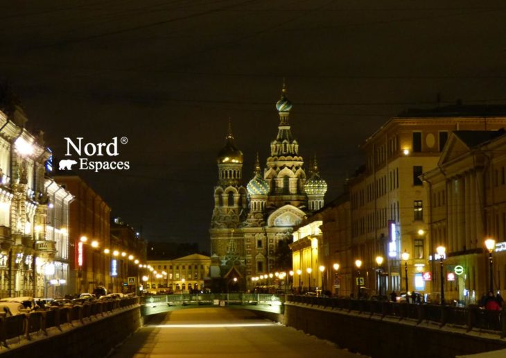 Eglise orthodoxe de Saint Sauveur sur le sang versé à Saint-Pétersbourg