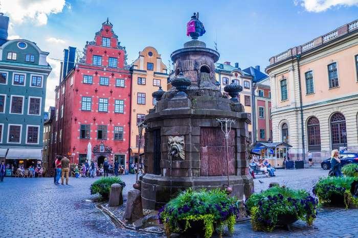 Douceur de vivre à Stockholm en été. Photo : Michelle Maria