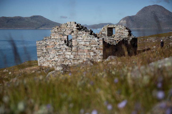 Ruine au Groenland - Nord Espaces Boréalis