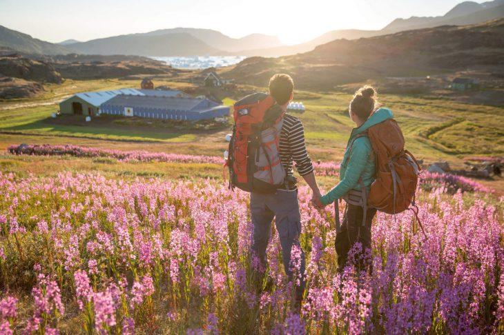 Randonnée au Groenland