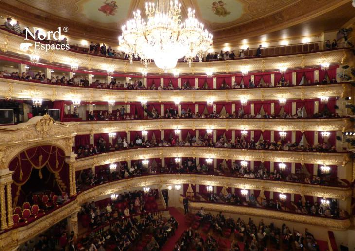 Balcons au théâtre