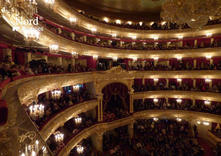 Bel étage au théâtre