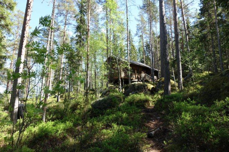 Hôtel dans la forêt boréale près de Kokkola, Finlande - Nord Espaces