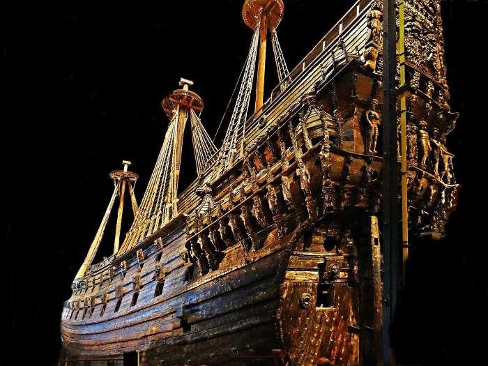 La magnifique épave du Vasa. Photo : Hasse Lundqvist
