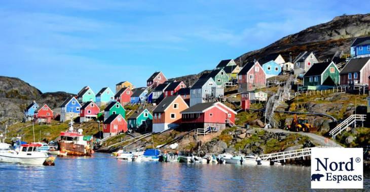 Village au Groenland - Nord Espaces Boréalis