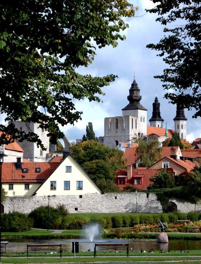 Visby, île de Gotland, Suède - Nord Espaces