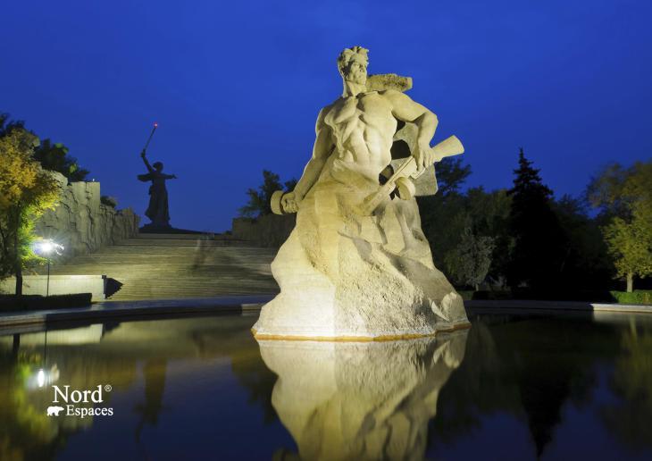 Monument au soldat défenseur de Stalingrad, Volgograd
