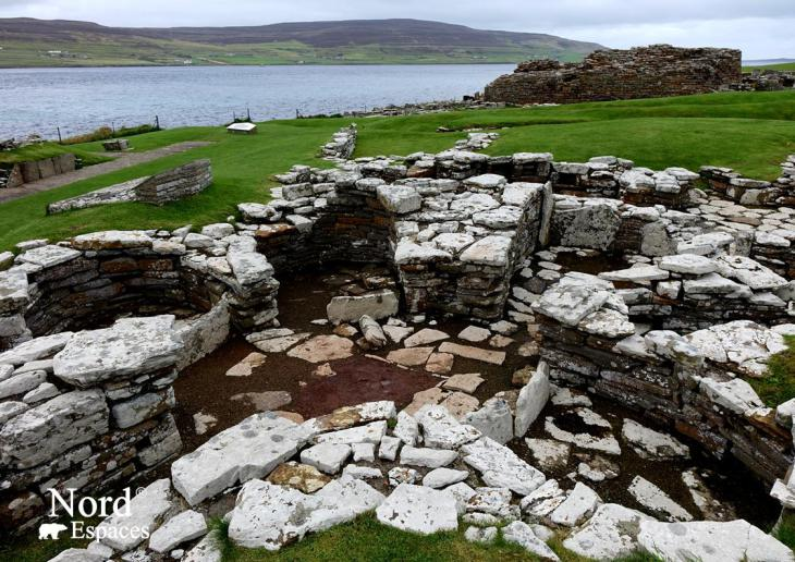 Broch of Gurness, Orcades, Ecosse - Nord Espaces