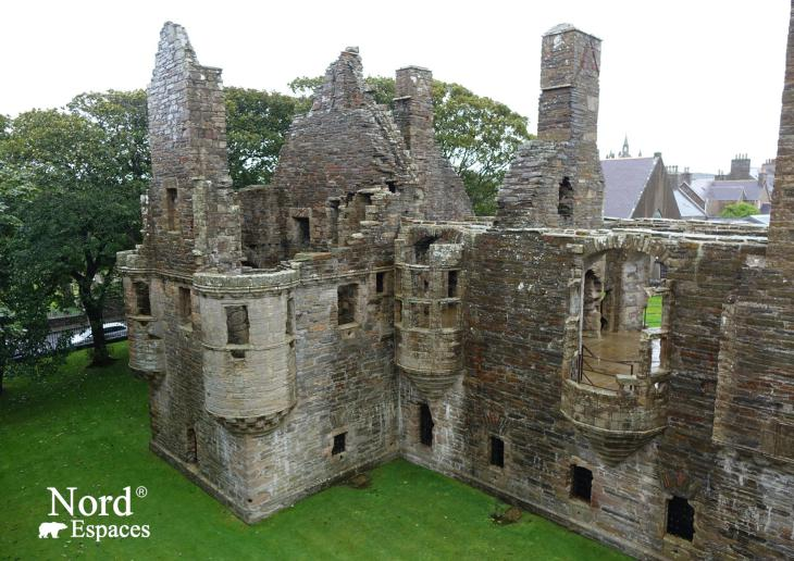 Earl's Palace, Orcades, Ecosse - Nord Espaces