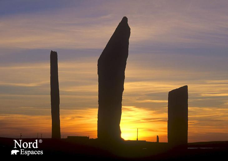Stones of Stenness, Orcades, Ecosse - Nord Espaces