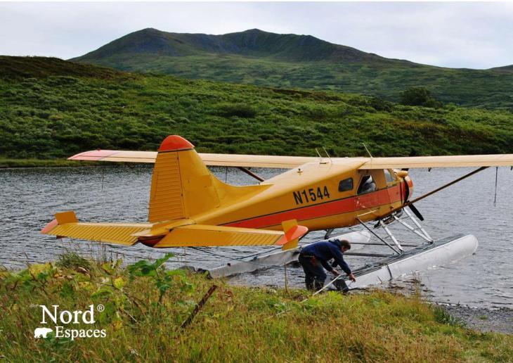Hydravion alaskien. Photo : Natacha de Nord Espaces