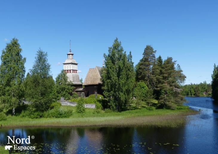 Eglise de Petäjävesi, Finlande