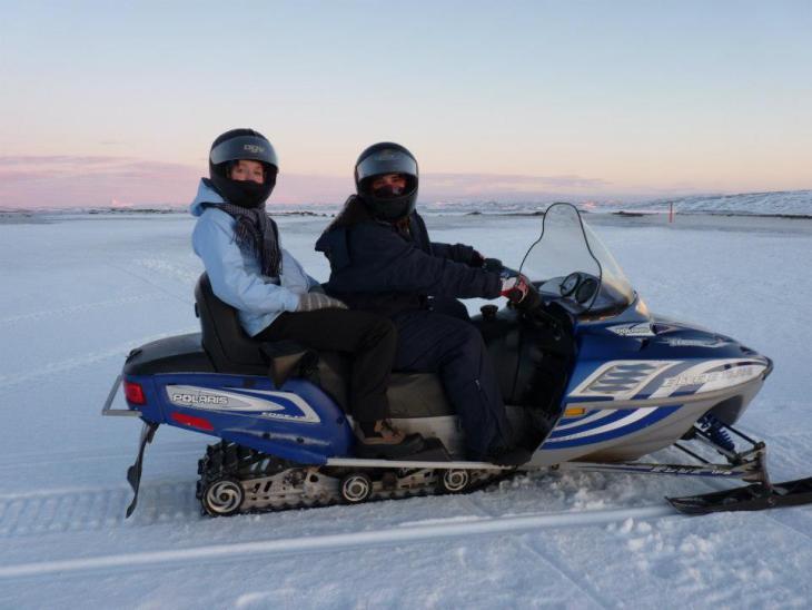 Motoneige en Islande - Nord Espaces