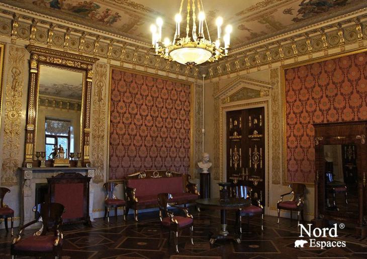 L'intérieur du palais Elaguine