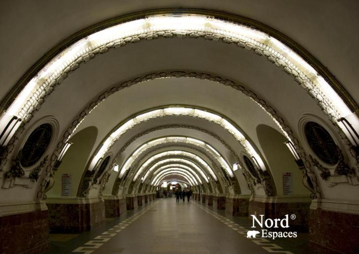 Métro de Saint-Pétersbourg vaut la visite