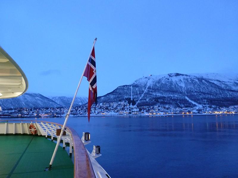 L'Express Côtier norvégien en hiver. Grand Nord, zoom sur les aurores boréales !